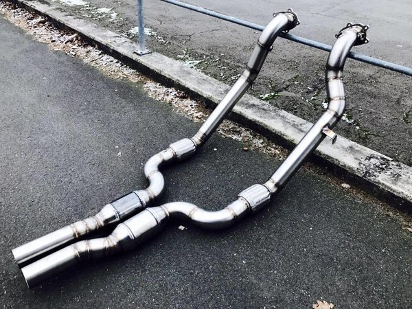 "3"" Downpipes - 4.0 TFSI QUATTRO"