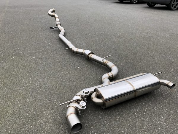 "3,5"" Downpipe  -  RS3 8V Vorfacelift"